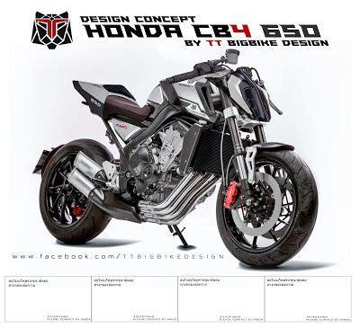 Benelli Leoncino Modification by Tt Bigbike Design Honda Cb4 650 Design Concept Edit By