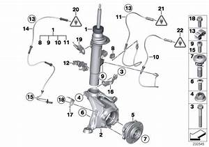 Bmw X3 Left Front Spring Strut  Suspension  Struts  Shocks