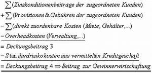 Deckungsbeitrag Rechnung : kurzfristige erfolgsrechnung in kreditinstituten ~ Themetempest.com Abrechnung