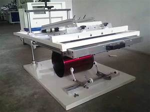 Mini Manual Screen Print Curved Surface Machine For Sale