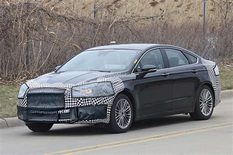 ford fusion mondeo facelift spied autoevolution