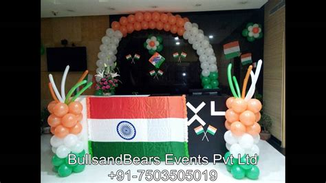 august independence day decoration  january