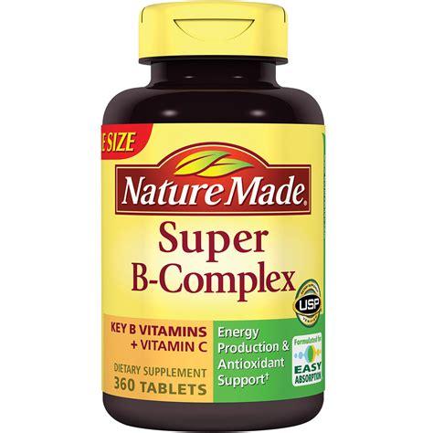 amazon com nature made super vitamin b complex tabs 360 ct health personal care