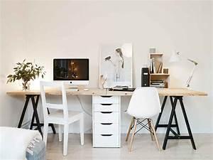 Schreibtisch Schwarz Ikea : einen einfachen schreibtisch bauen 17 schnelle diy ideen ~ Indierocktalk.com Haus und Dekorationen