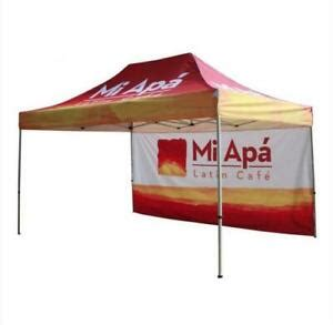 custom pop  outdoor canopy tent gazebo  full color print ebay