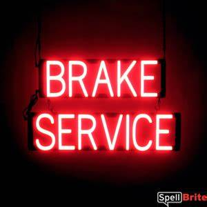 BRAKE SERVICE Signs