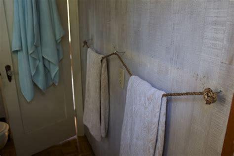 nautical towel rack diy towel racks for a chic bathroom update