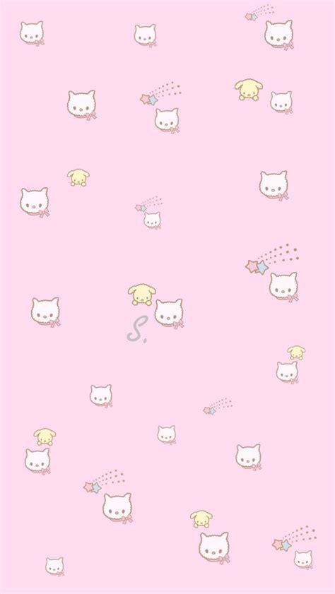 cat wallpaper aesthetic pink cat wallpaper aesthetic