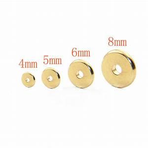 Rigipsplatten 6 5 Mm : 200pcs pack 4mm 5mm 6mm 8mm brass spacer beads 100 brass ~ Michelbontemps.com Haus und Dekorationen