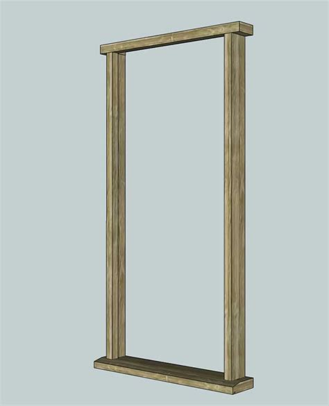 Making An Exterior Door Frame  Diywiki