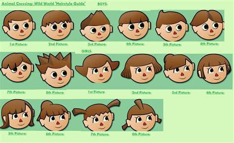 Animal Crossing City Folk Boy Hairstyles by The Hairstyle Hairstlye Guide Wiki Fandom