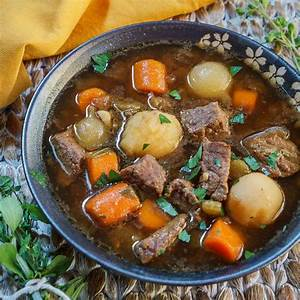 Easy Vegetable Beef Soup Recipe   Hostess At Heart