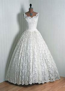 gorgeous 1950s wedding dress vintage vault pinterest With 1950s wedding dresses
