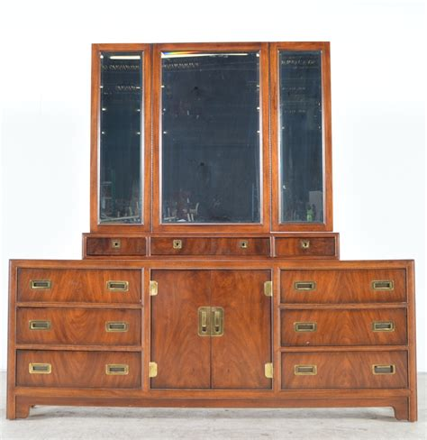 drexel heritage dresser mirror drexel heritage quot dynasty collection quot dresser with hinged