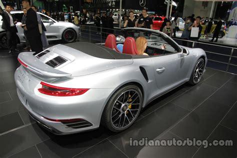 Porsche 911 Targa 4, Porsche 911 Turbo S Cabriolet
