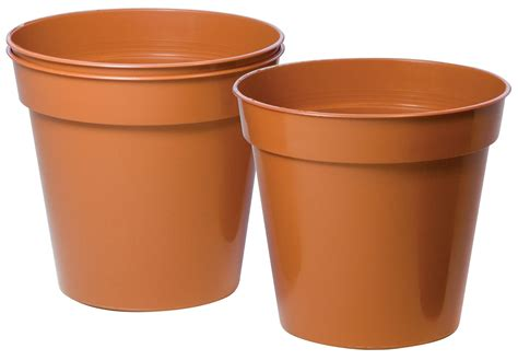 exterior plastic storage cabinets plastic terracotta plant pot dia 150mm pack of 3