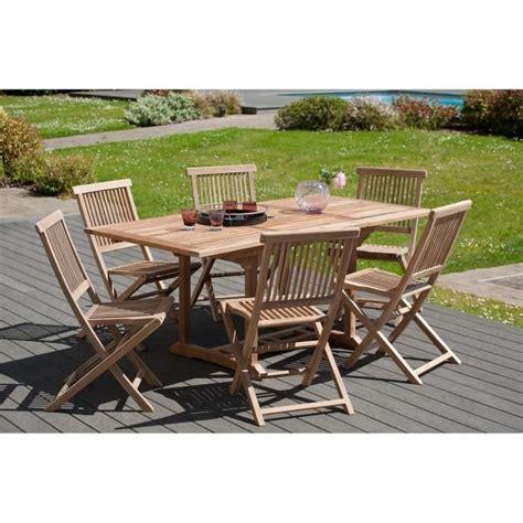 chaises en teck java lot de 2 chaises de jardin en teck achat vente