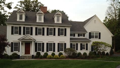 colonial renovation traditional exterior new york