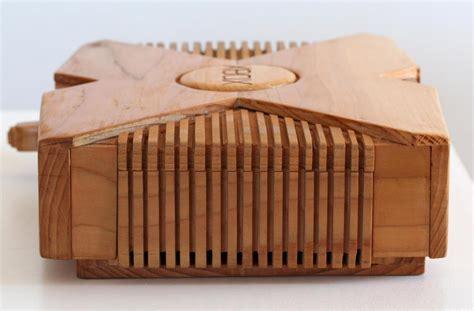wooden xbox game console gadgetsin