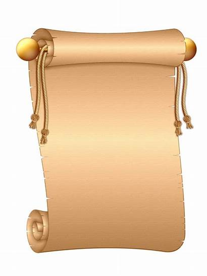 Scroll Paper Ancient Letter Clipart Roll Clip