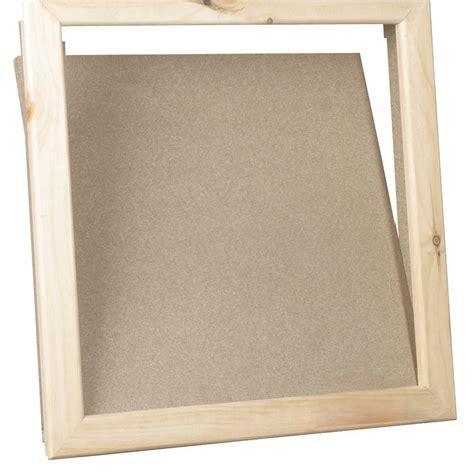 trappe de visite bois l 60 x h 60 cm sanitrap leroy