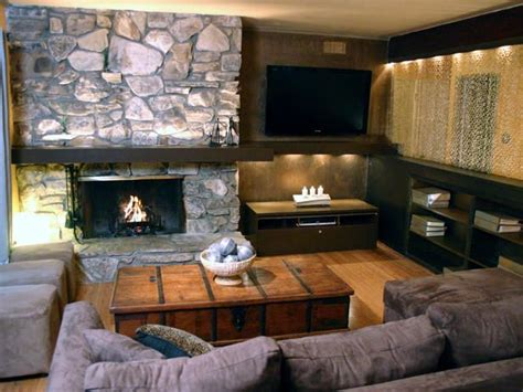 16 Best Images About Tv And Fireplace On Pinterest