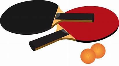 Tennis Pong Ping Table Clipart Clip Racket
