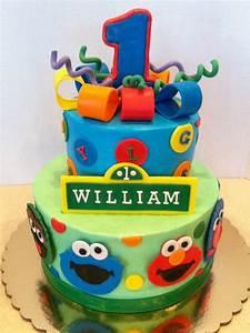 Sesame Street Birthday Cake Cake Designs & Ideas Pinterest