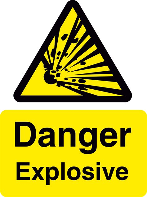 kitchen collection tanger explosive hazard sign raymac signs 28 images