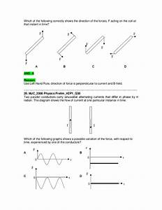 Compilation Of Questions On Electromagnetism  Questions