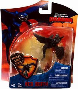 How to Train Your Dragon Series 3 Red Death 4 Action ...