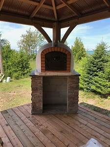 Brick Pizza Oven  Wood Fired  Outdoor