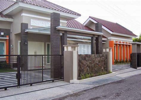 desain rumah minimalis dua muka desain rumah