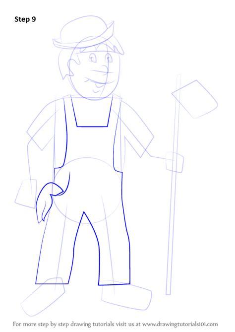 learn   draw  farmer  kids  occupations