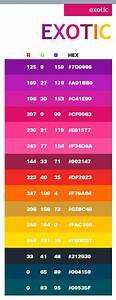 Code Couleur Pantone : exotic web colors colour palettes i palette couleur couleur nuancier ~ Dallasstarsshop.com Idées de Décoration