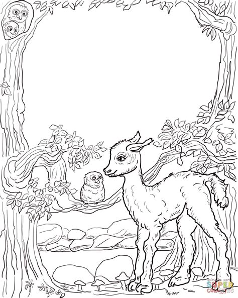 Llama Coloring Pictures To Color Grig3org