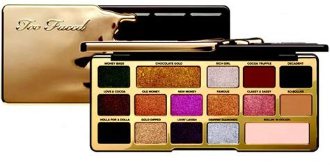 faced chocolate gold holiday  collection beauty trends  latest makeup collections