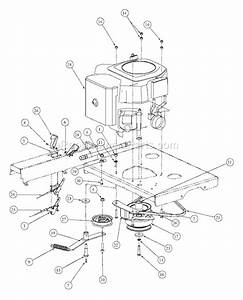 Mtd Mmz-2554 Parts List And Diagram
