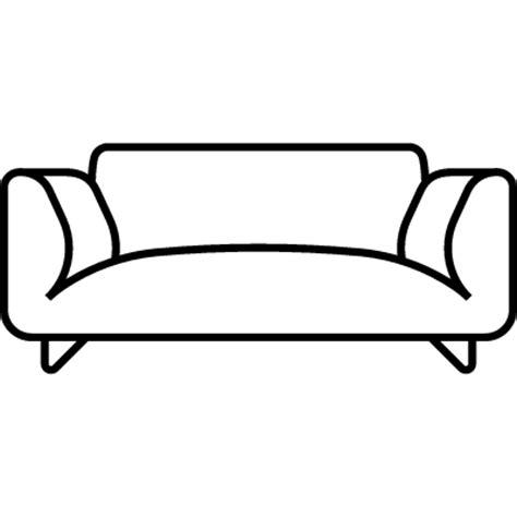 sofa outline vector sofa free vectors logos icons and photos downloads