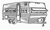 Caravan Template Sketch sketch template
