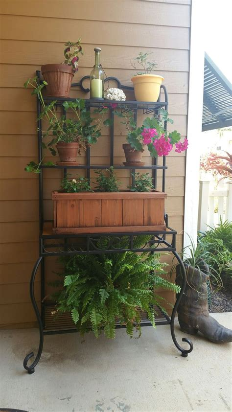 tiered plant stand images  pinterest wrought