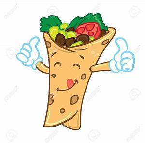 Lunch wrap clipart collection