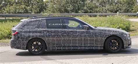 Bmw 5 Series Touring 2019 by 2019 Bmw 3 Series Touring Spied Looking Like A 5er