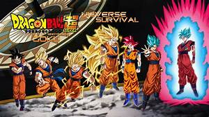 Goku Evolution - Tournament of Power Wallpaper by ...