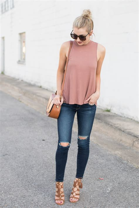Casual spring-to-summer outfit | Love Lenore | Midwest Blogger Love | Pinterest | Spring ...