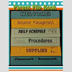 Meet The Teacher Flipbook {editable}  Teachable Moments  Parents As Teachers, Parent Teacher