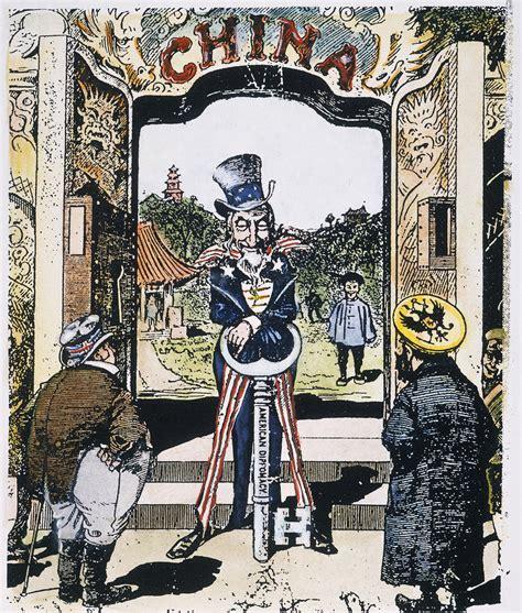 open door policy open door 1900 by granger
