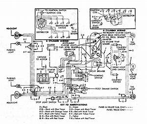 Wiring Diagram 1951 F-1