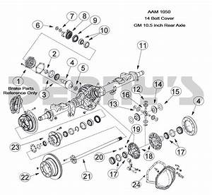 30 Gm 10 Bolt Front Axle Diagram