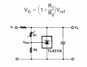 how shunt regulator tl431 works datasheet application With transistor tip36 datasheet application note electronic circuit